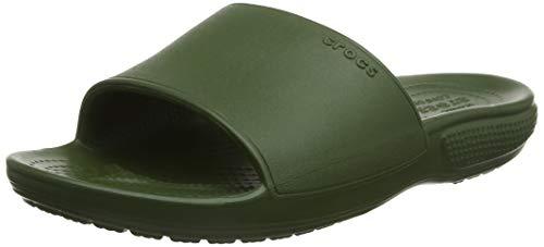 Crocs Classic II Slide, Scarpe da Spiaggia e Piscina Unisex-Adulto, Verde (Army Green 000), 42/43 EU