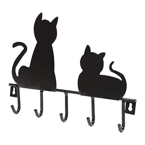 ounona crochets porte-manteau de fer crochets porte-clés Crochets multifonction (chats)