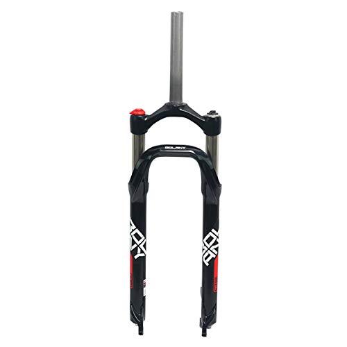 ZFF Neve/BMX Forcella della Bicicletta Fat Tire Bike Forks Pressione Olio Ammortizzatore 135 Millimetri 26inch 4.0' Frok 1-1/8' Corsa 100mm Controllo Spalle