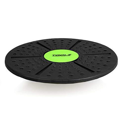 TOOLZ Balance Board – Therapiekreisel für das Koordinations-, Gleichgewichts- & Krafttraining – Rundes Wackelbrett aus Kunststoff