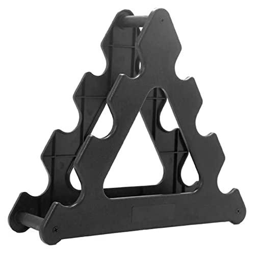 ORTUH Soporte para pesas de 3 animales, soporte para mancuernas, soporte para mancuernas en forma de A, de metal