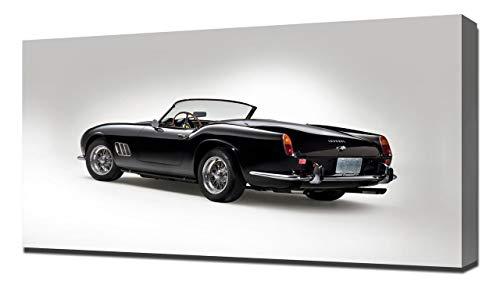 Lilarama 1963 Ferrari 250 GT California Spyder V3 - Image sur Toile - Impression Giclée