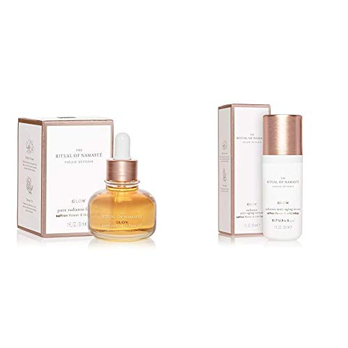 RITUALS The Ritual of Namasté Anti-Aging Gesichtsöl, Ageless Kollektion, 30 ml & The Ritual of Namasté Anti-Aging Serum, Glow Kollektion, 30 ml