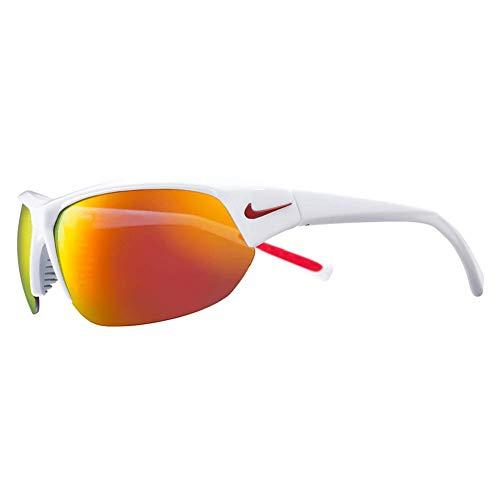 Nike Syklon Ace EV1125 Sonnenbrille Brille (one size, white/grey/red)
