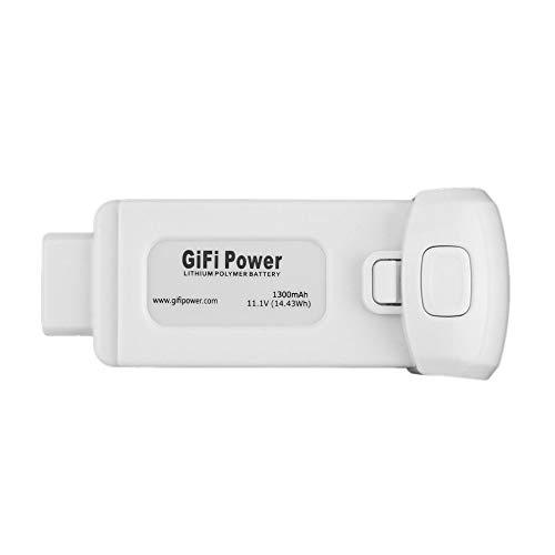 RETYLY 1 Pcs Gifi Poder Ligero Compacto 11.1V 1300Mah 14.43Wh Bateria De Polimero De Litio De Repuesto para Yuneec Breeze
