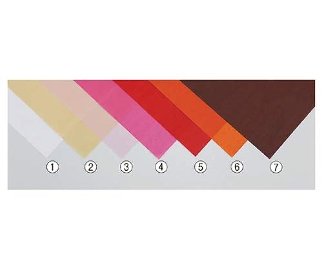 固執有彩色のバルコニーアズワン ラッピングカラーペーパー(薄葉紙) クリーム 入数2000枚/61-7282-15