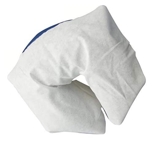 HEALLILY 100Pcs Einweg Massage Kopfstütze Abdeckungen Vliesstoffe Gesicht Rest Wiege Schlafen Liegen Körper Massage Gesicht Spa Kissen Pad