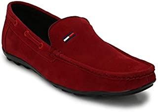 WHYSO Casual Synthetic Leather Loafers/Moccasins Mens Boys