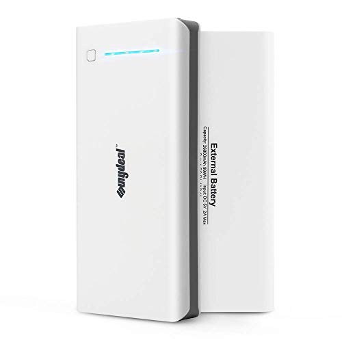 SUNYDEAL PowerCore - Batteria Esterna da 26800 mAh con PowerIQ per iPhone XS Max/XR/XS/X / 8/8 Plus / 7 / 6s / 6 Plus, iPad, Samsung Galaxy, Lettore MP3, Colore: Bianco