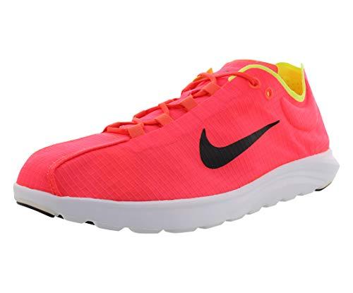Nike Hombres Calzado Atlético, Bright Crimson Black Volt 600, Talla 8