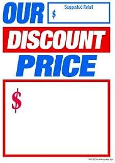 Amazon.com: t50odp nuestro precio de descuento ranurada ...