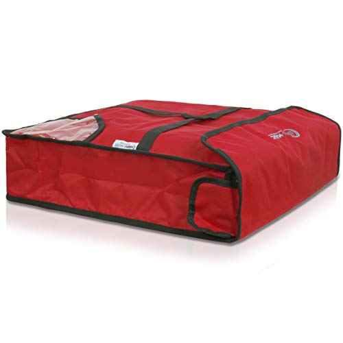"""Simpli-Magic Insulated Delivery Bag, 20"""" x 20"""" x 5"""", Red"""