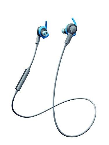 Jabra SPORT COACH (Blue) Wireless Bluetooth Earbuds for Cross-Training - Retail Packaging