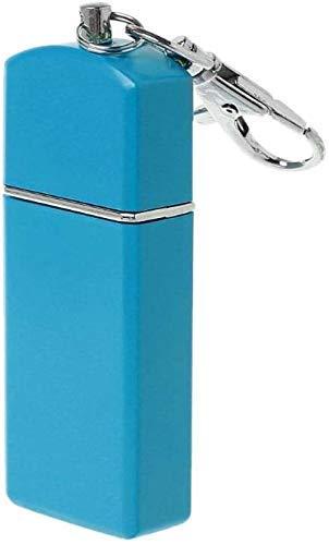 AMITD, bewegende mini-taszak, winddichte hoezen sleutelhangers voor buiten, roken, accessoires, lila (kleur: paars) Blue blauw