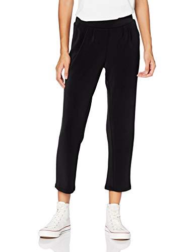 ONLY Damen ONQGAIA Ankel Pants SWT Hose, Black, M