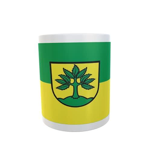 U24 Tasse Kaffeebecher Mug Cup Flagge Berglen