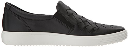 ECCO Women's Soft 7 Woven Slip on Fashion Sneaker