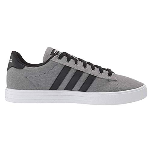 adidas Men's Daily 2.0 Sneaker, Grey/Black/White, 10 M US
