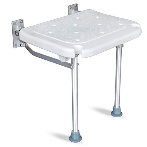 Badkamerkruk, douchestoel, wandkruk, opklapbare badkamerkruk, antislip badstoel voor oudere zwangere vrouwen