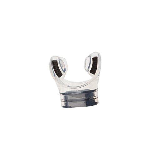 SCUBAPRO Spectra Ersatz-Mundstück für Schnorchel, Farbe:klar