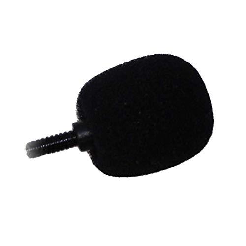 Große Schaum Mic Windschutz für MXL, Audio Technica und andere große Mikrofone, Schwarz