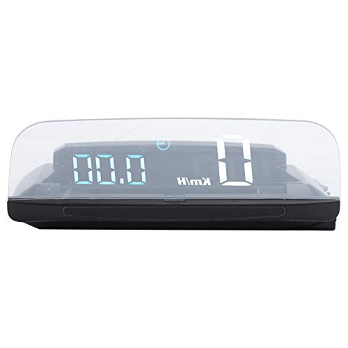 Xuzuyic GPS para automóvil Computadora Inteligente de 5 Pulgadas, Alarma de Advertencia de conducción por Fatiga Medidor Digital Multifuncional, multifunción, Velocidad