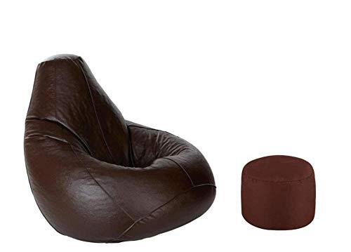 B/H Muebles Elegante Sofa Cubre,Sofá Perezoso, puf puf Chair-Black_85 * 115cm,Fundas de sofá de Esquina