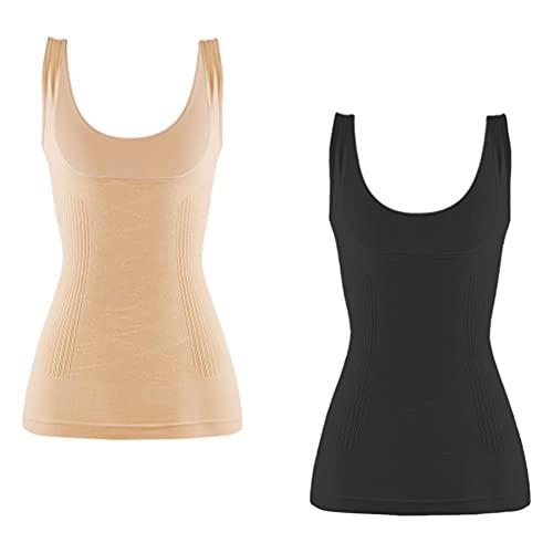 LIXBD 2 Stück Postpartum Girdle Body Shaper Frauen Taille Trainer Korsett Weste Bodysuit Cincher Tank Top Body Shaper Taille Trainer Größe XL (Größe : XL)