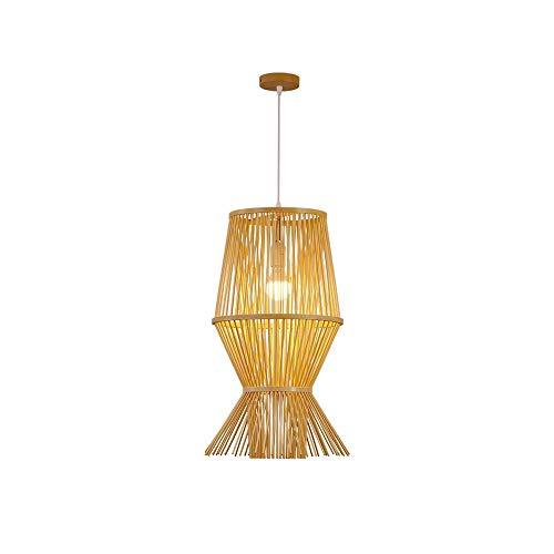 LSSB Lámpara Moderna Simple Chino araña lámpara de bambú Arte Tea Room Restaurante Hot Pot Restaurante Caja del Pasillo del Pasillo de la lámpara por casa, Chalet, Bar, Restaurantes