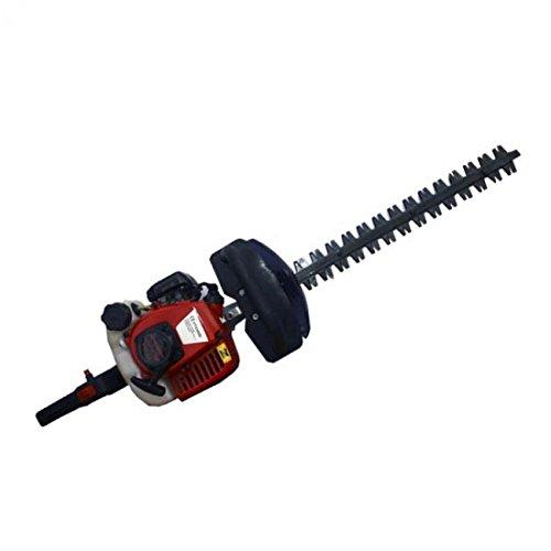 Cortasetos de gasolina motor 22cc cuchilla 55cm manillar giratorio
