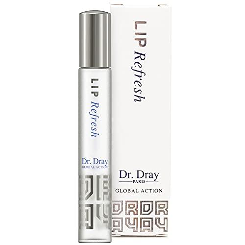 Dray Cosmetics Hidratante de Labios Antiedad, con Aceites Esenciales y Ácido Hialurónico, 10 ml