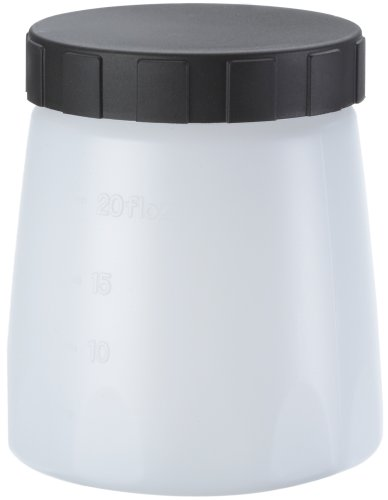 Wagner 414906 Container with Cover, 600 ml Paint sprayers, White
