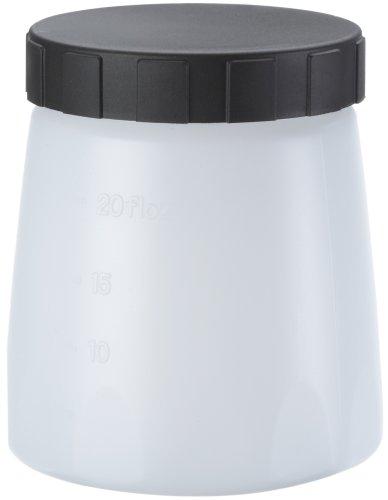 WAGNER Farbbehälter mit Deckel, 600 ml für WAGNER Farbsprühsysteme FLEXiO, Wood&Metal, WallSprayer