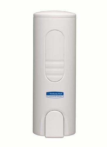 Kimberly-Clark Professional 6982 Kompakter Spender für Luxusschaumseife, 200 ml, 19 cm (L) x 8,5 cm (B) x 6,5 cm (T), 1 x 1 spender, weiß