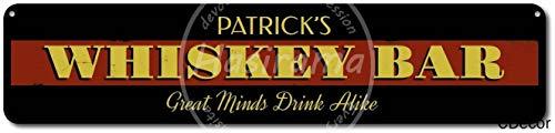 Whiskey Bar Great Minds Drink Alike Metalen plaatwanden Child metalen poster gedecoreerd bar restaurant keuken kantoor thema bruiloft verjaardag Kerstmis Paasgeschenk