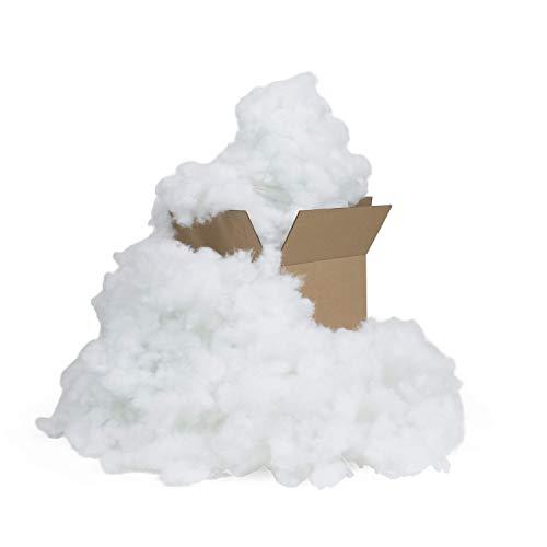 Fairfield Poly-Fil Premium 100% Polyester Fiber Fill Box, 25 lb, White