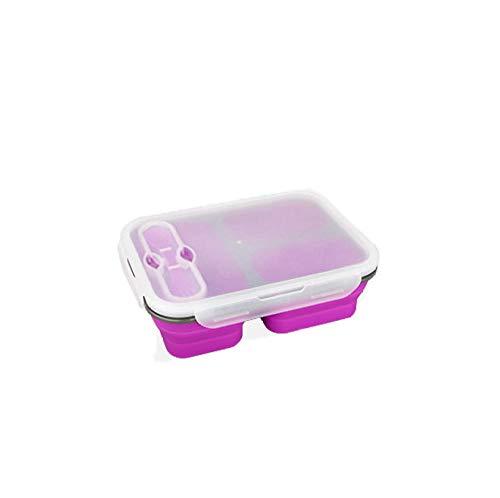 Glass voedsel bewaardozen met vloeistoffen, glazen meal prep container, lunchcontainer, magnetron, oven, freezer en vaatwasserbestendig. paars