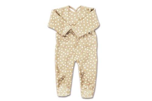Baby Boum 563MPTY281 Schlafanzug 3-6 m Spoty Micro Polar 81, crunch