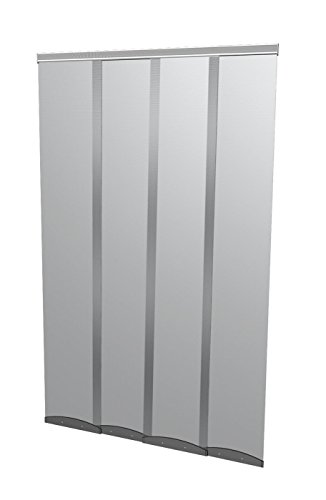 Windhager Moustiquaire Rideau Comfort, Rideau de porte à moustiquaire, 120 x 250 cm, anthracite, 03784