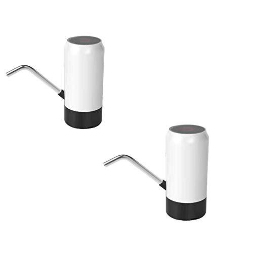 SXYB Eimer-Wasserpumpe, hauseigener Reinwasserspender, USB-Aufladung, im Freien, tragbar, große Kapazität, kleine Dezibel, stumm, 45 Grad Neigung, praktische, multifunktionale Basis