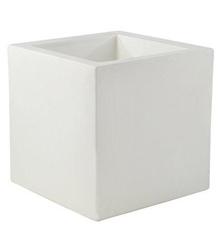 Vondom 41340 Cubo Simple, Blanco, 40x40x40 cm