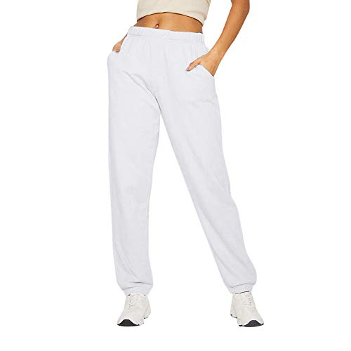 TiaoBug Freebily Girls Rip Stop Pants Loose Perspiration Pants Mid-Rise Full Length Dance Running Sport Work Out Trousers Activewear