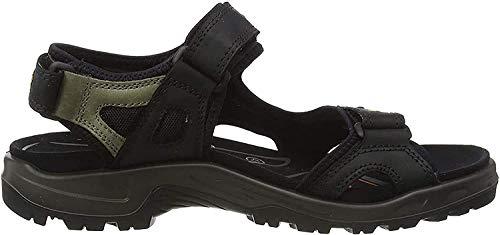 ECCO Offroad Flat sandały męskie, czarny - Black Mole Black - 48 EU