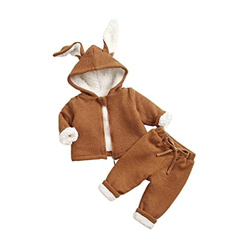 UMore Ropa Bebé Niña Conjunto Niña Pantalon y Top Fiesta Bebé Niña Niños Mamelucos de Manga Larga de Conejo oído Elegante Otoño Ropa para Bebe Niña Recien Nacido Baratos