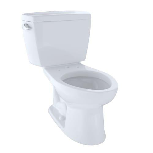 Toto Toilets Drake 2 Piece Toilet Tank & Bowl (elongated, G-max) - Cotton (contains C744e#01 + St743s#01)