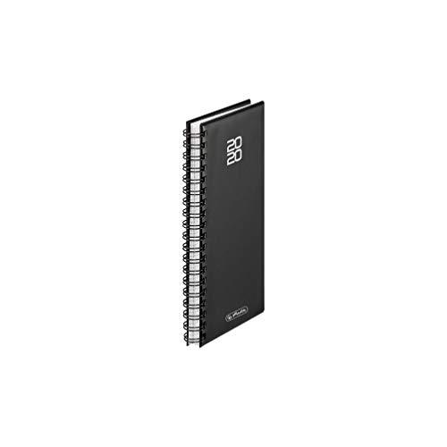 Spiralkalender Folie 2020, Schwarz, 1 Stück