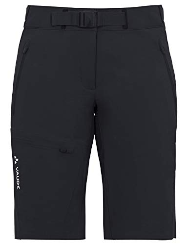 Vaude Damen Hose Women's Badile Shorts, Black Uni, 42, 04631