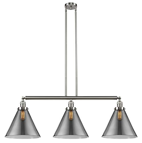 Innovations Lighting 213-SN-G43-L-LED Bare Bulb 1 Light Cord Set, Brushed Satin Nickel