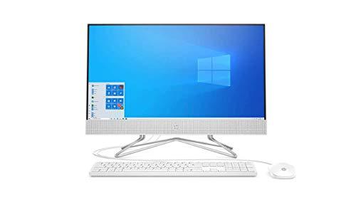 HP 24' FHD IPS Anti-Glare WLED Backlit Touch All-in-One AIO Desktop, AMD Athlon Silver 3050U, 8GB DDR4, 256GB PCIe SSD, DVD, WiFi 5, Bluetooth, Webcam, Media Card Reader, Windows 10, ABYS Mouse Pad