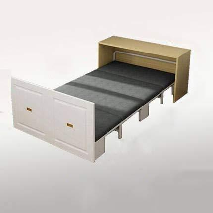 RSTJVB Klappbett, einziehbares All-in-One-Tisch NAP-Bett, Platz sparen Kleinwohnung,Large